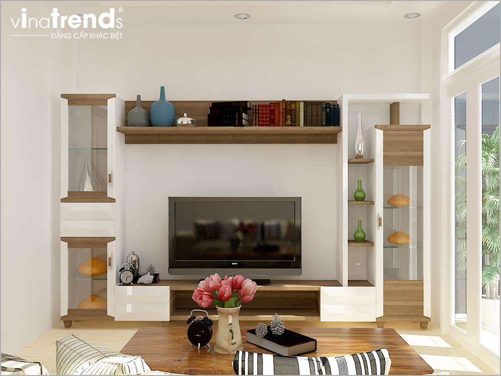 PONG SHC2 Mẫu thiết kế phòng khách nhỏ hẹp nhà ống xinh xắn