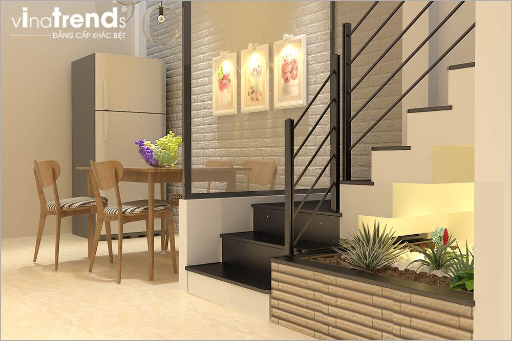 TRET 5 Mẫu nhà phố mặt tiền 4m 4 tầng dài 12m cả nội thất hiện đại ở Gò Vấp   Hồ Chí Minh