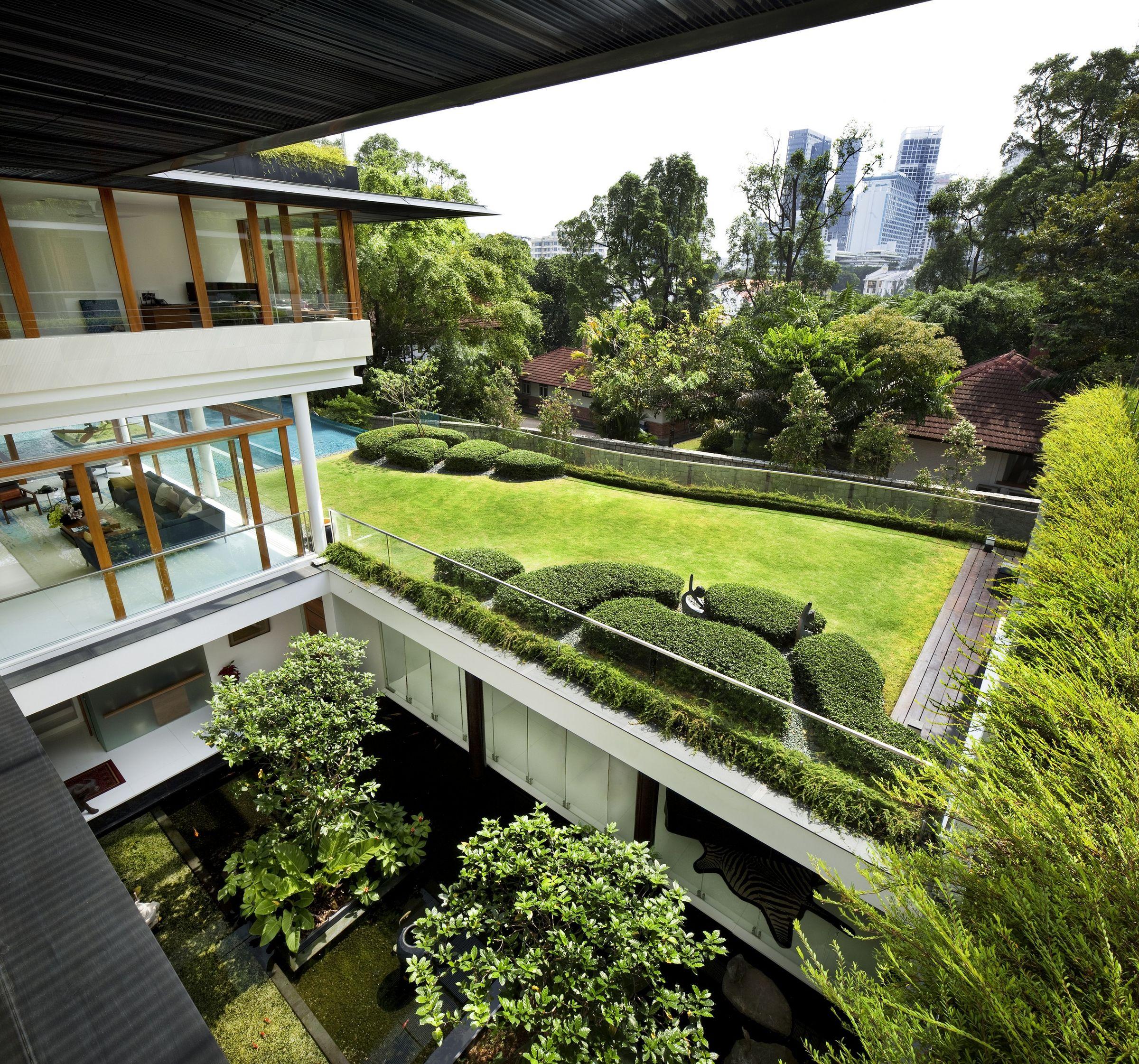 cac mau nha biet thu co san vuon dep nhat the gioi 31 50+ mẫu nhà biệt thự có sân vườn xanh mát mê mọi góc cạnh của thế giới