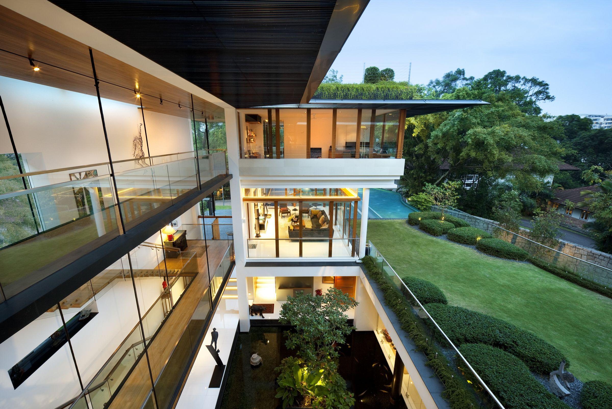 cac mau nha biet thu co san vuon dep nhat the gioi 32 50+ mẫu nhà biệt thự có sân vườn xanh mát mê mọi góc cạnh của thế giới