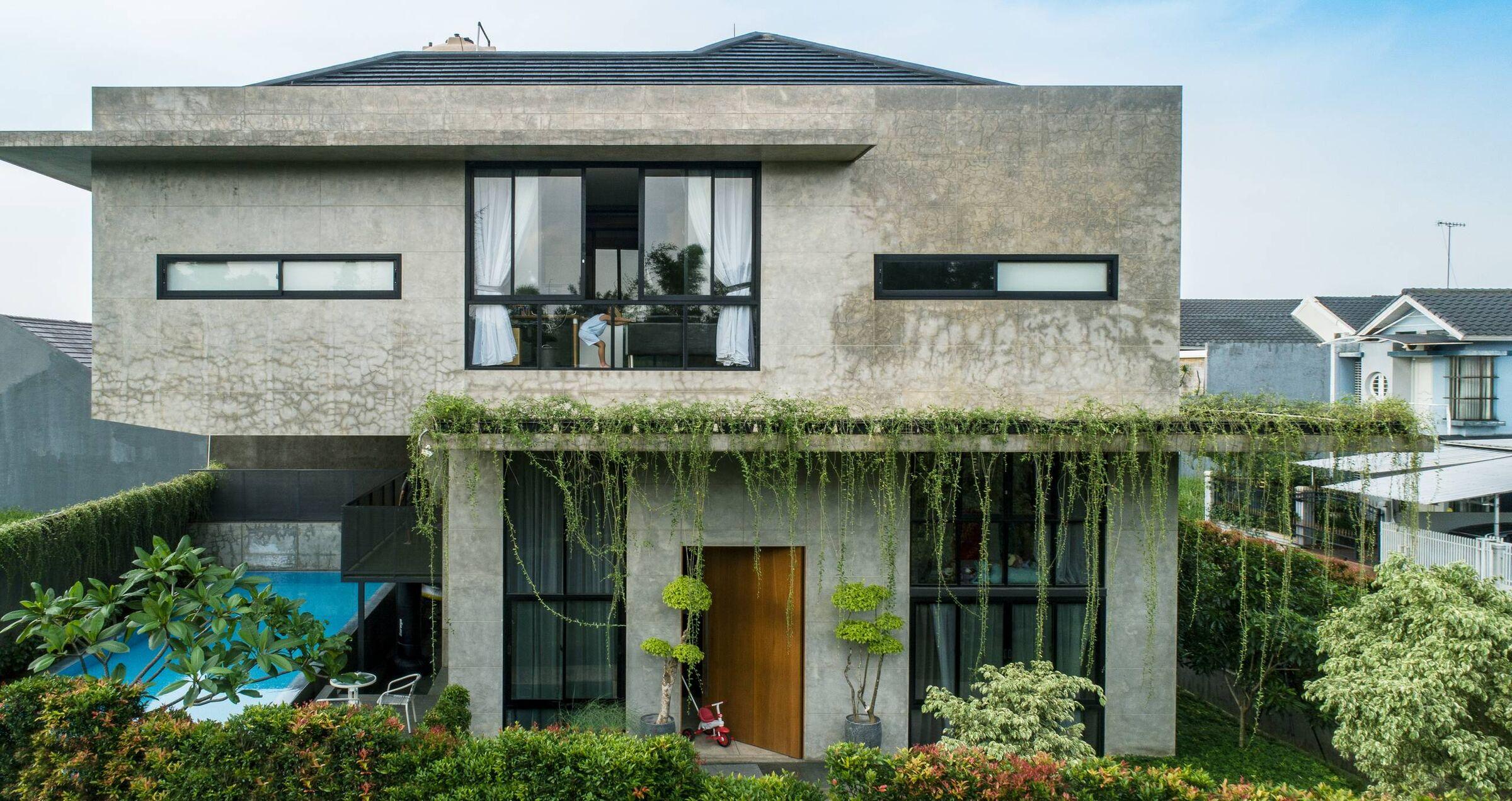 cac mau nha biet thu co san vuon dep nhat the gioi 4 50+ mẫu nhà biệt thự có sân vườn xanh mát mê mọi góc cạnh của thế giới