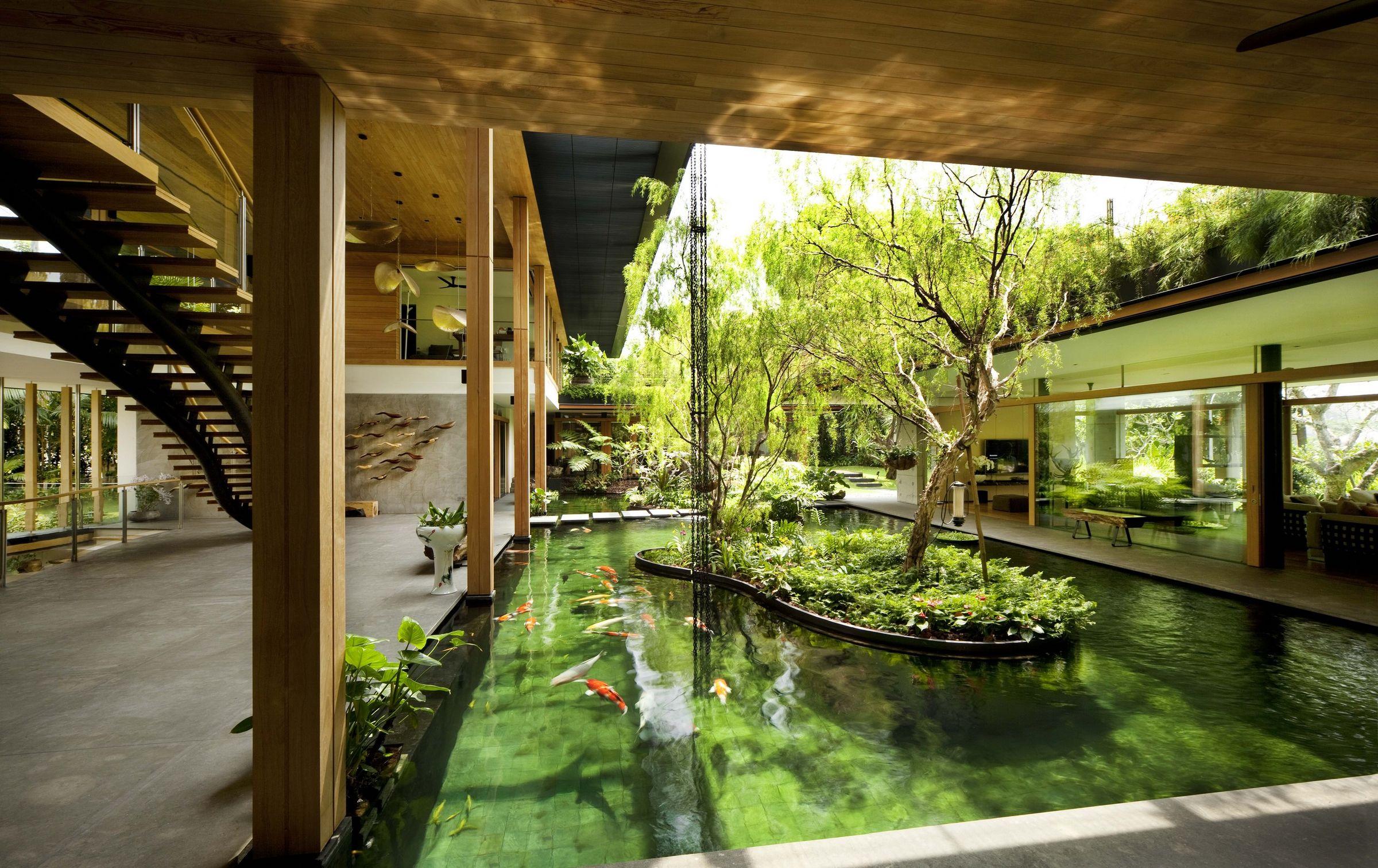 cac mau nha biet thu co san vuon dep nhat the gioi 6 50+ mẫu nhà biệt thự có sân vườn xanh mát mê mọi góc cạnh của thế giới