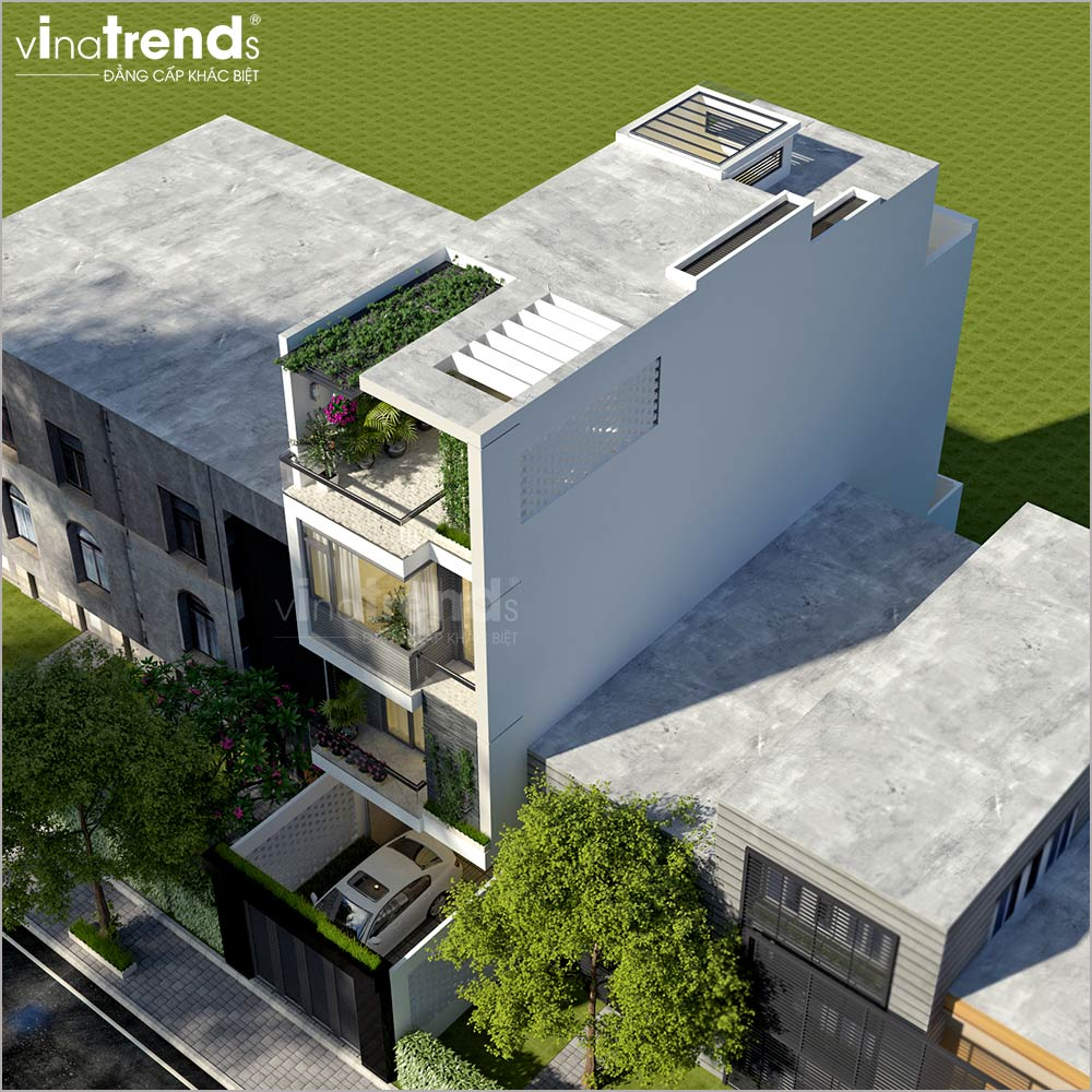 mau nha ong mat tien 4 5m 4 tang hien dai dep o viet nam 3 Mẫu nhà ống mặt tiền 4,5x18m 4 tầng hiện đại lấy được niềm tin chủ nhà ở Hồ Chí Minh