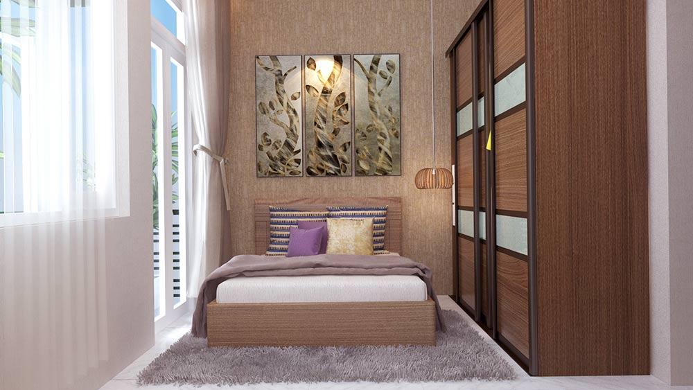 mau nha ong mat tien 4m 4 tang dep 10 Mẫu nhà ống mặt tiền 4m 4 tầng dài 12m tiện nghi sang xịn ở Hồ Chí Minh