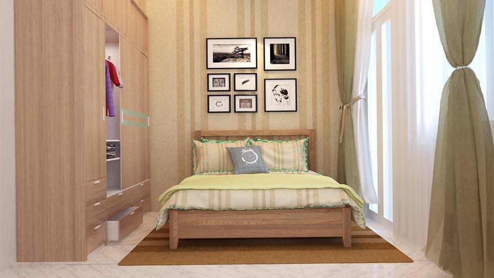 mau nha ong mat tien 4m 4 tang dep 6 Mẫu nhà phố mặt tiền 4m 4 tầng dài 12m cả nội thất hiện đại ở Gò Vấp   Hồ Chí Minh