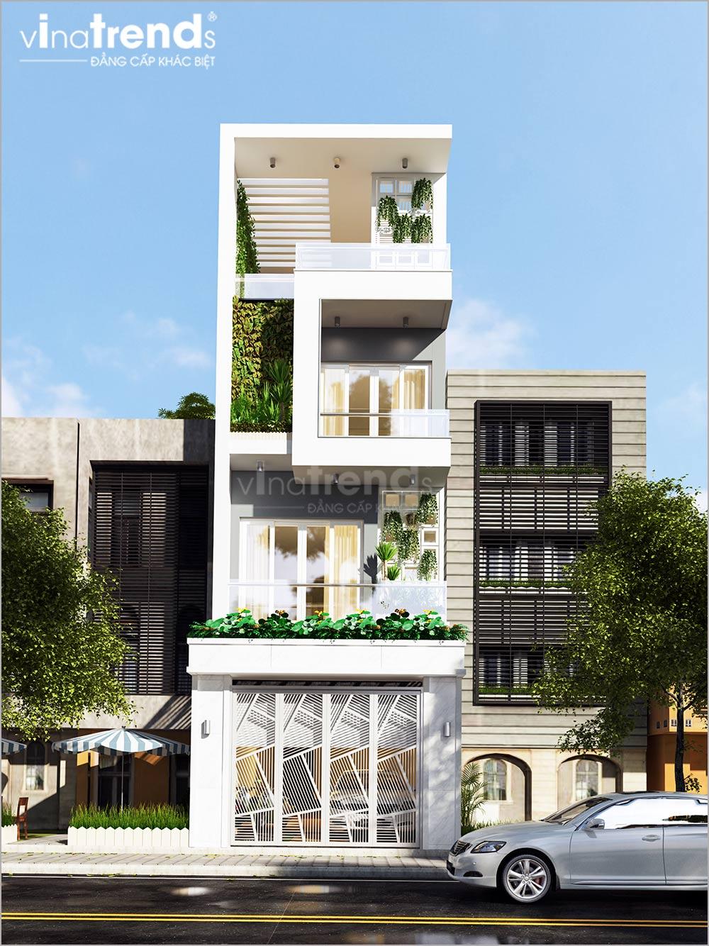 mau nha ong mat tien 5m 4 tang hien dai dep nhat 2 Mẫu nhà phố mặt tiền 5m 4 tầng hiện đại đẳng cấp Việt anh Phương Bình Chánh
