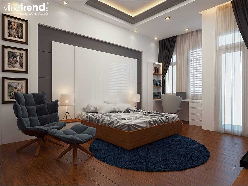 noi that nha ong hien dai dep 1 2 Mẫu nhà phố mặt tiền 5m 4 tầng hiện đại đẳng cấp Việt anh Phương Bình Chánh