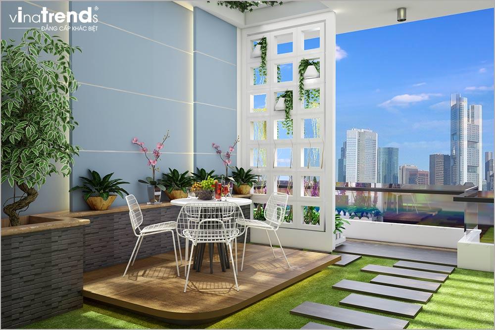 noi that nha ong mat tien 5m 4 tang hien dai 8 Mẫu nhà phố mặt tiền 5m 4 tầng hiện đại đẳng cấp Việt anh Phương Bình Chánh
