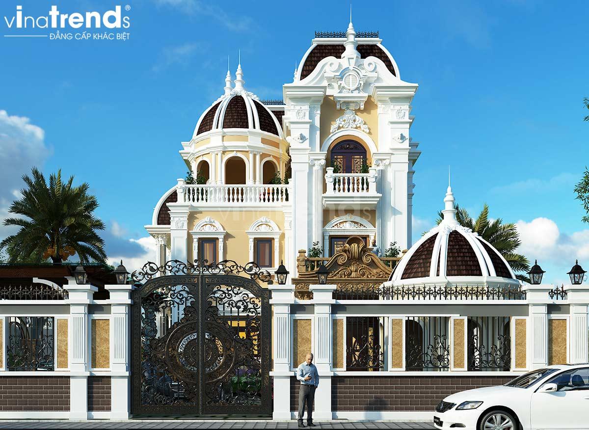 mau biet thu chau au 3 tang dep nhat viet nam Phong thủy xây nhà tuổi Canh Tý 1960 rất tốt trong năm nay