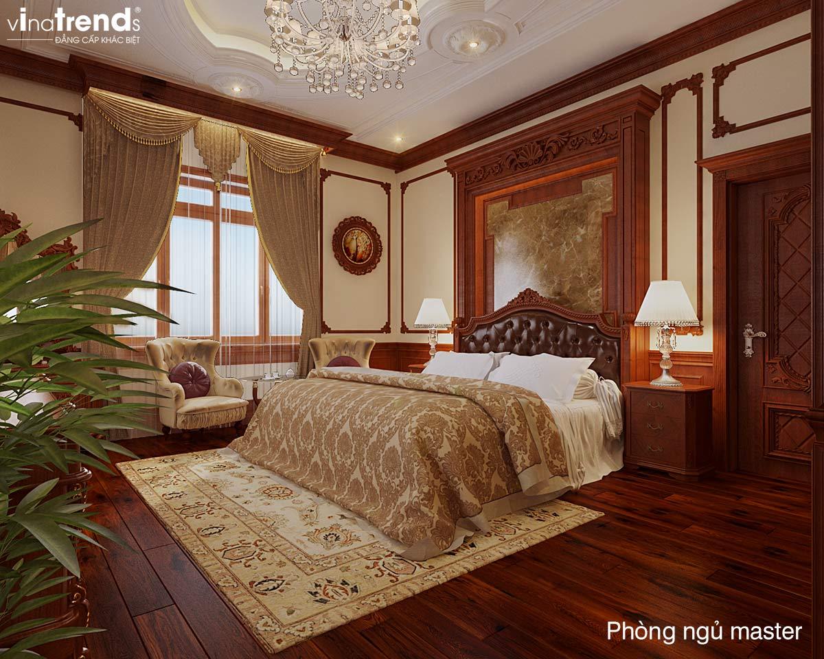 mau phong ngu co dien dep Mẹo thiết kế nội thất phòng ngủ đẹp   NT011213D