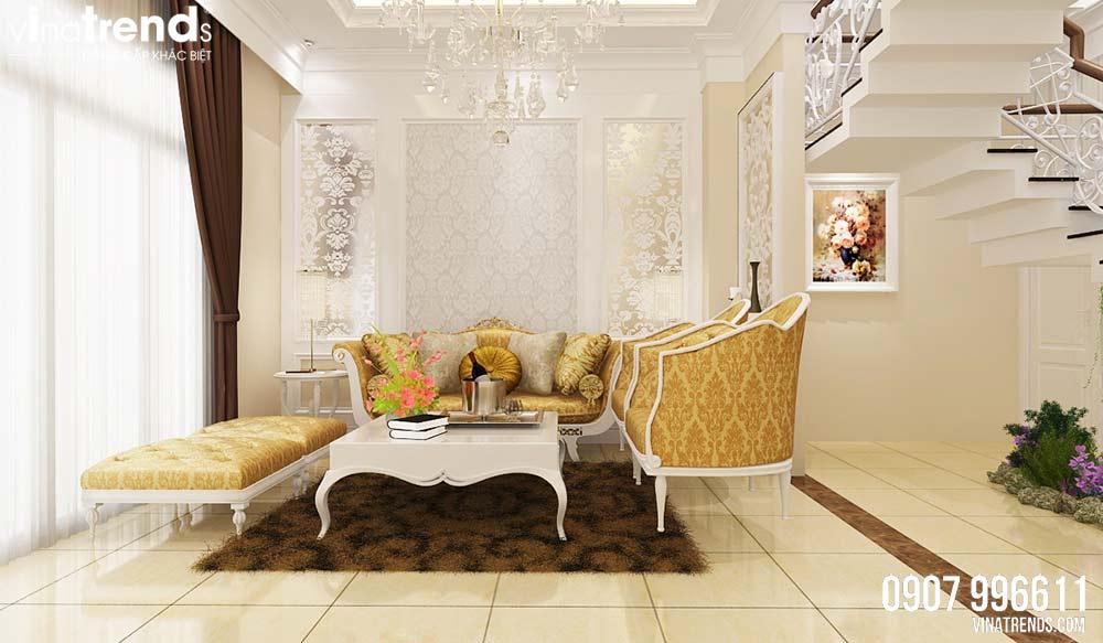 mau phong ngu nho dep Mẫu nhà 3 tầng dành tầng trệt kinh doanh mặt tiền 5,3x27m nhà chị Nga ở Hưng Yên