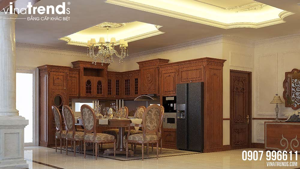 phong khach Thiết kế nội thất sang trọng bằng gỗ cho nhà 32m2   NT011213H