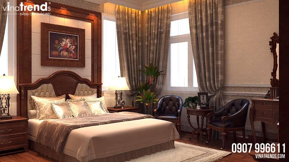 phong ngu master Thiết kế nội thất phòng ngủ cho ông bà hợp phong thủy   NTPN260714A
