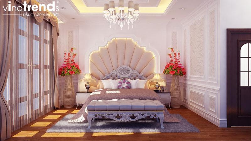 thiet ke noi that biet thu 2 tang co dien dep 10 Các mẫu thiết kế phòng ngủ đẹp mới sắc màu Thu Đông 2015   NTPN040814A