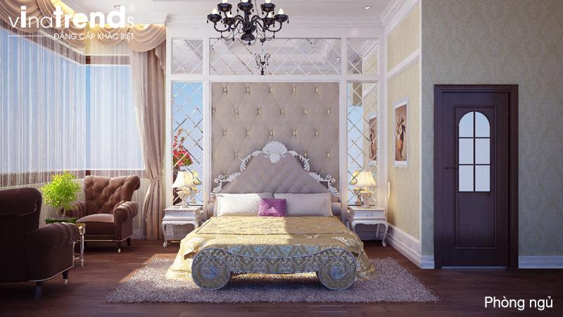 thiet ke noi that biet thu 2 tang co dien dep 11 Các mẫu thiết kế phòng ngủ đẹp mới sắc màu Thu Đông 2015   NTPN040814A