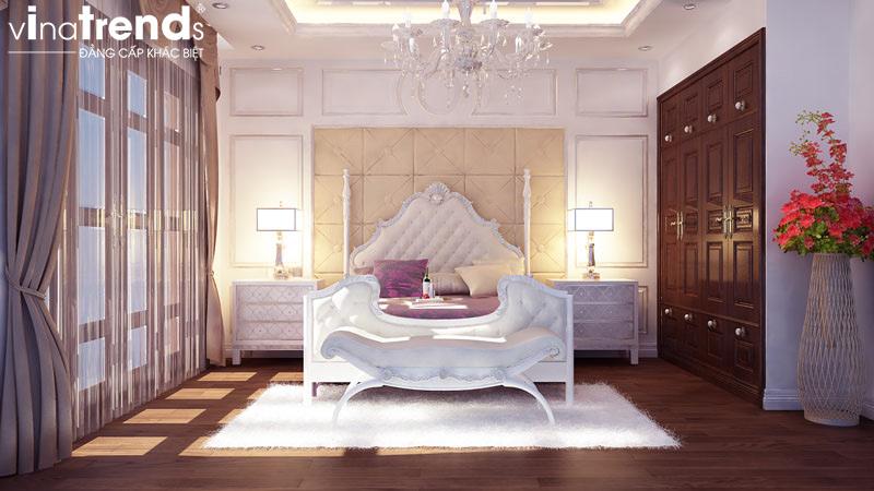 thiet ke noi that biet thu 2 tang co dien dep 9 Các mẫu thiết kế phòng ngủ đẹp mới sắc màu Thu Đông 2015   NTPN040814A