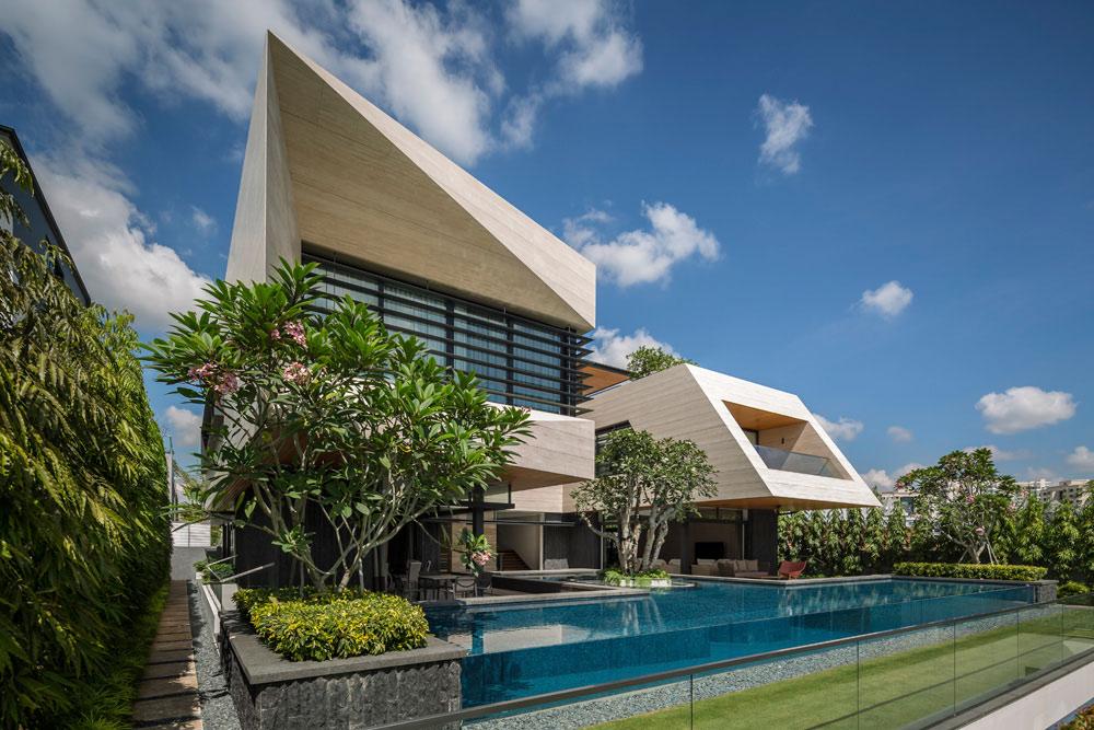 mau biet thu hien dai dep 3 tang co san vuon nho cay xanh dep nhat 33 Top 20 mẫu nhà biệt thự đẹp tìm kiếm nhiều nhất dành cho khách muốn xây nhà