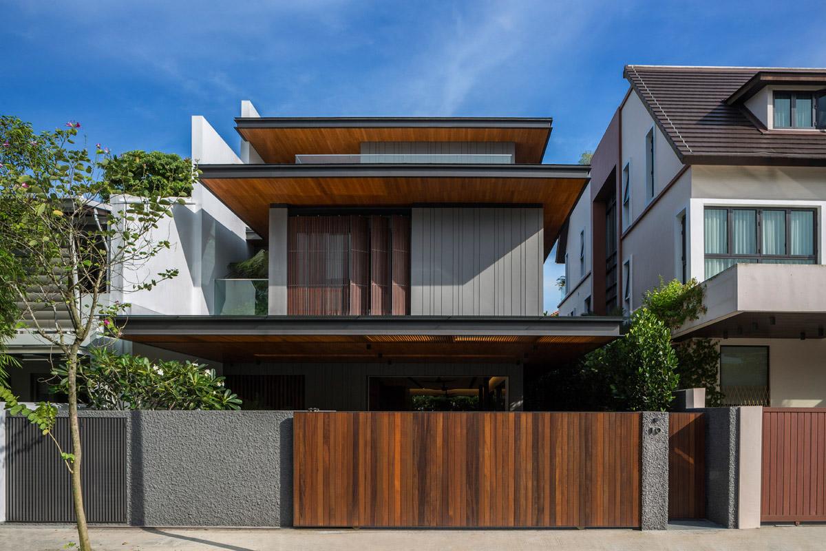 mau biet thu hien dai dep 3 tang co san vuon nho cay xanh dep nhat 58 Top 20 mẫu nhà biệt thự đẹp tìm kiếm nhiều nhất dành cho khách muốn xây nhà