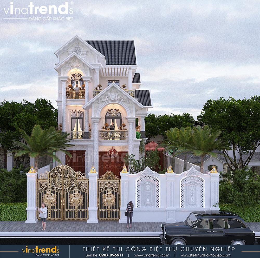 mau biet thu mai thai tan co dien 3 tang moi nhat Phong thủy xây nhà theo tuổi 1967 Đinh Mùi chính xác hướng xây sinh Vượng khí
