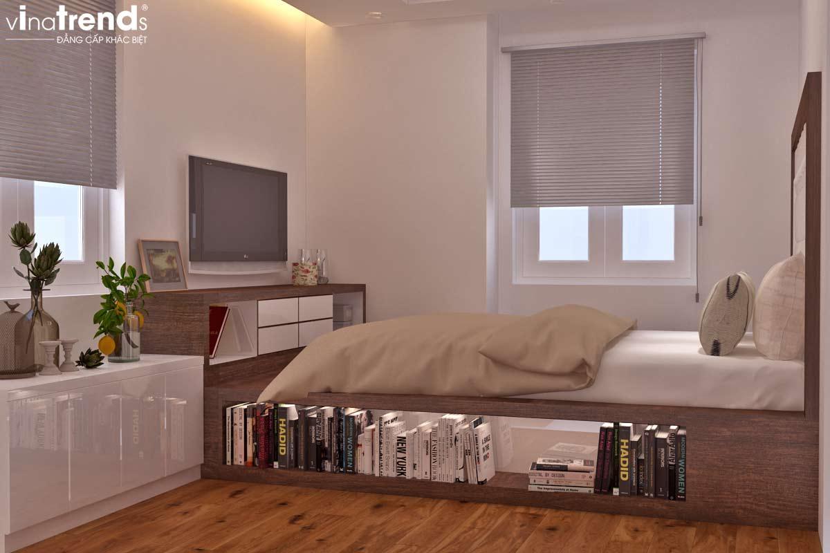noi that chung cu hien dai don gian 3 Mẫu thiết kế nội thất chung cư căn hộ nhỏ sắc xanh thoáng đẹp