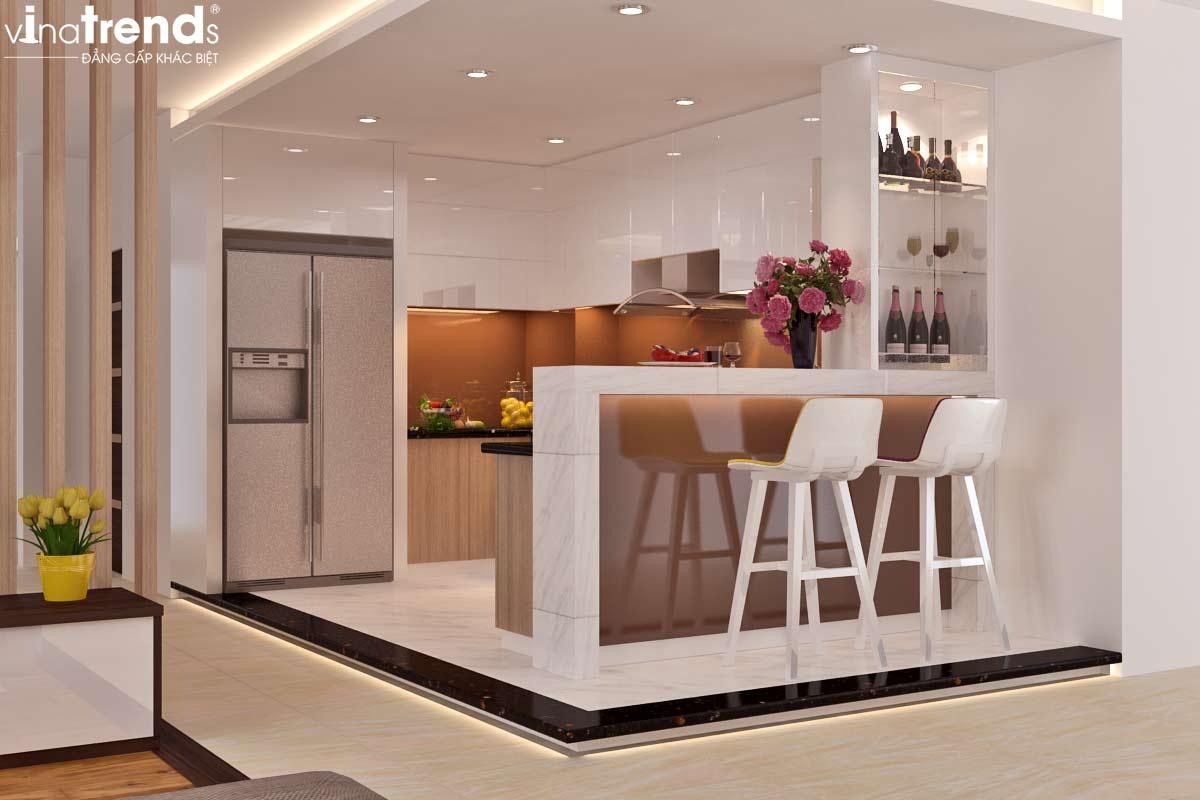 noi that chung cu hien dai don gian 5 Mẫu thiết kế nội thất chung cư căn hộ nhỏ sắc xanh thoáng đẹp