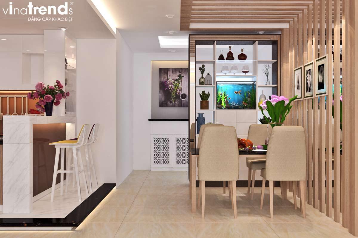 noi that chung cu hien dai don gian 6 Mẫu thiết kế nội thất chung cư căn hộ nhỏ sắc xanh thoáng đẹp
