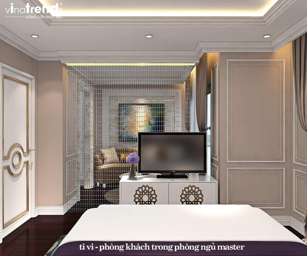 noi that phong ngu master tan co dien dep 1 Đẳng cấp mẫu nội thất đẹp chung cư 2 tầng tân cổ điển ở Hồ Chí Minh