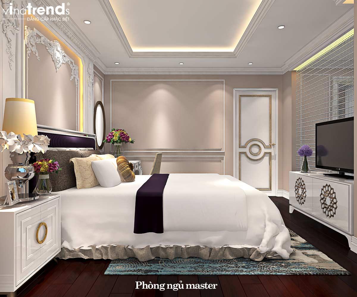 noi that phong ngu master tan co dien dep Đẳng cấp mẫu nội thất đẹp chung cư 2 tầng tân cổ điển ở Hồ Chí Minh