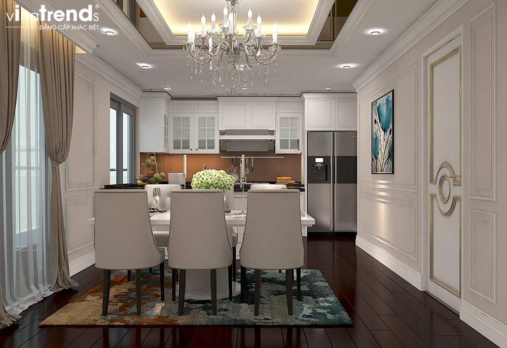phong an chung cu tan co dien cao cap Đẳng cấp mẫu nội thất đẹp chung cư 2 tầng tân cổ điển ở Hồ Chí Minh