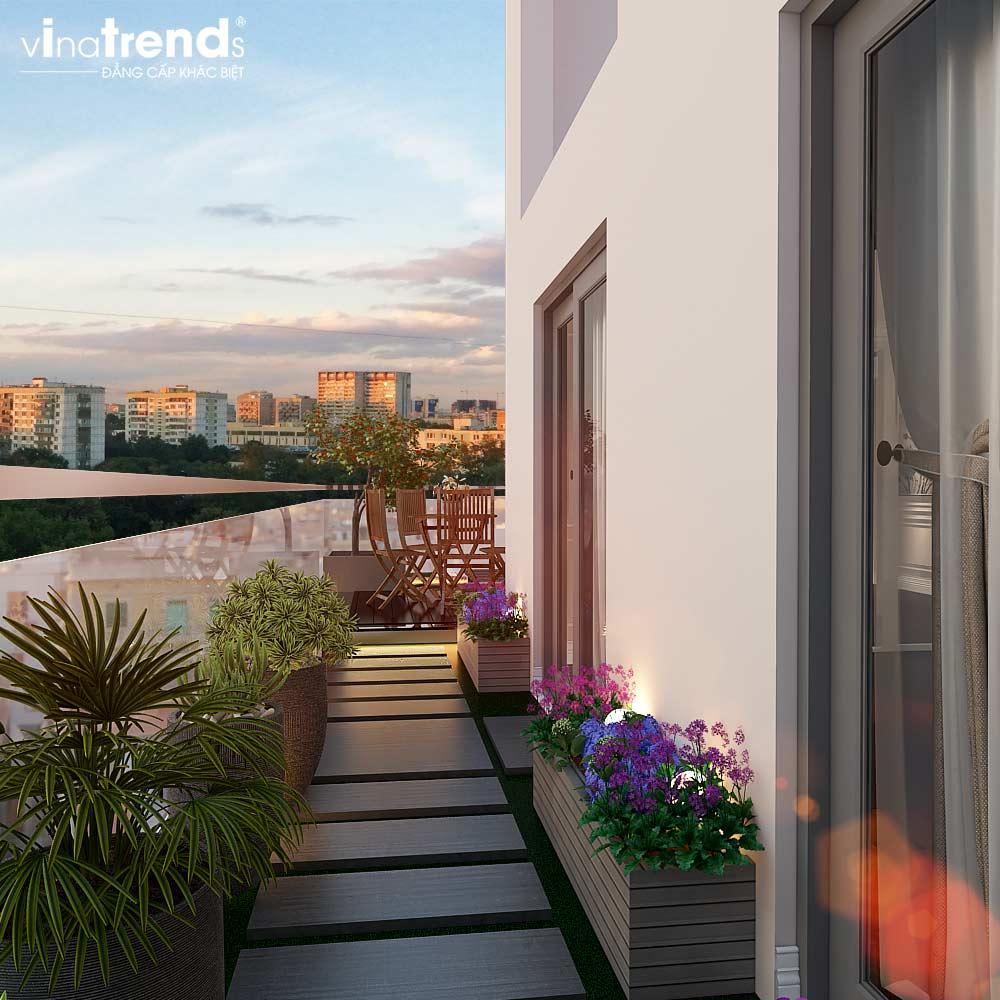 san vuon ban cong chung cu tan co dien cao cap Đẳng cấp mẫu nội thất đẹp chung cư 2 tầng tân cổ điển ở Hồ Chí Minh