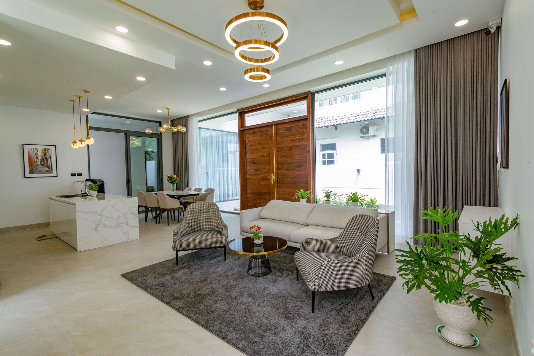 noi that nha hien dai 1 tang dep Biệt thự vườn nhà 1 tầng hiện đại 8x19m kiểu phương Tây không gian mở ở Biên Hòa
