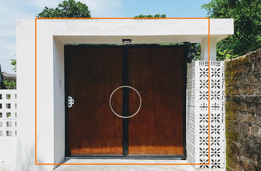 mau cong biet thu hien dai 2 canh dep [Hình thực tế] mẫu cổng nhà biệt thự hiện đại đẹp đứng sau thành công các biệt thự triệu đô