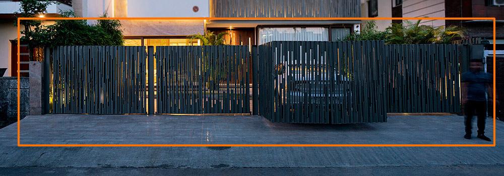 mau cong biet thu hien dai nghe thuat dep [Hình thực tế] mẫu cổng nhà biệt thự hiện đại đẹp đứng sau thành công các biệt thự triệu đô