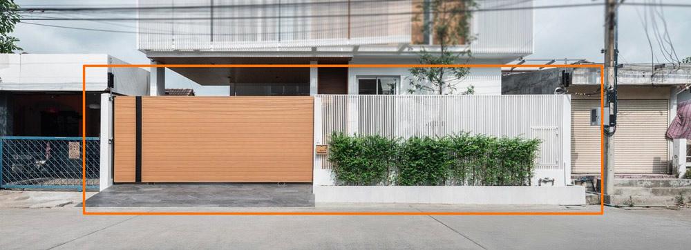 mau cong biet thu nha vuon dep [Hình thực tế] mẫu cổng nhà biệt thự hiện đại đẹp đứng sau thành công các biệt thự triệu đô
