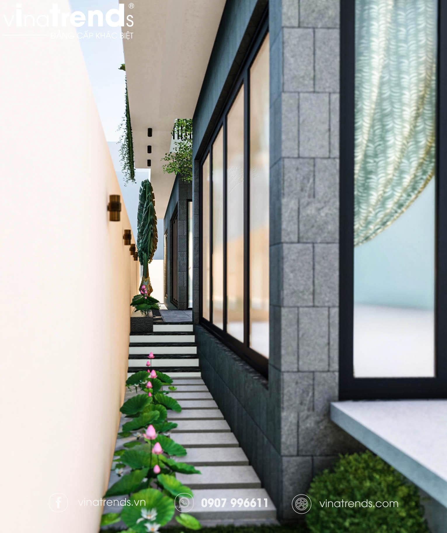 mau nha biet thu co san truoc dep 1 Làm sao mẫu biệt thự hiện đại 3 tầng đẹp nhất KDC này nha em | 126m2, Nghệ An