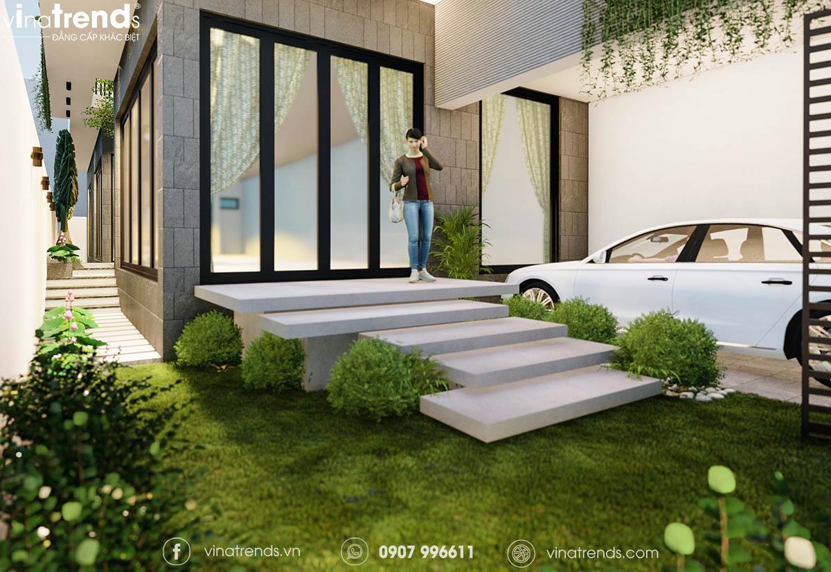mau nha biet thu co san truoc dep 2 Làm sao mẫu biệt thự hiện đại 3 tầng đẹp nhất KDC này nha em | 126m2, Nghệ An
