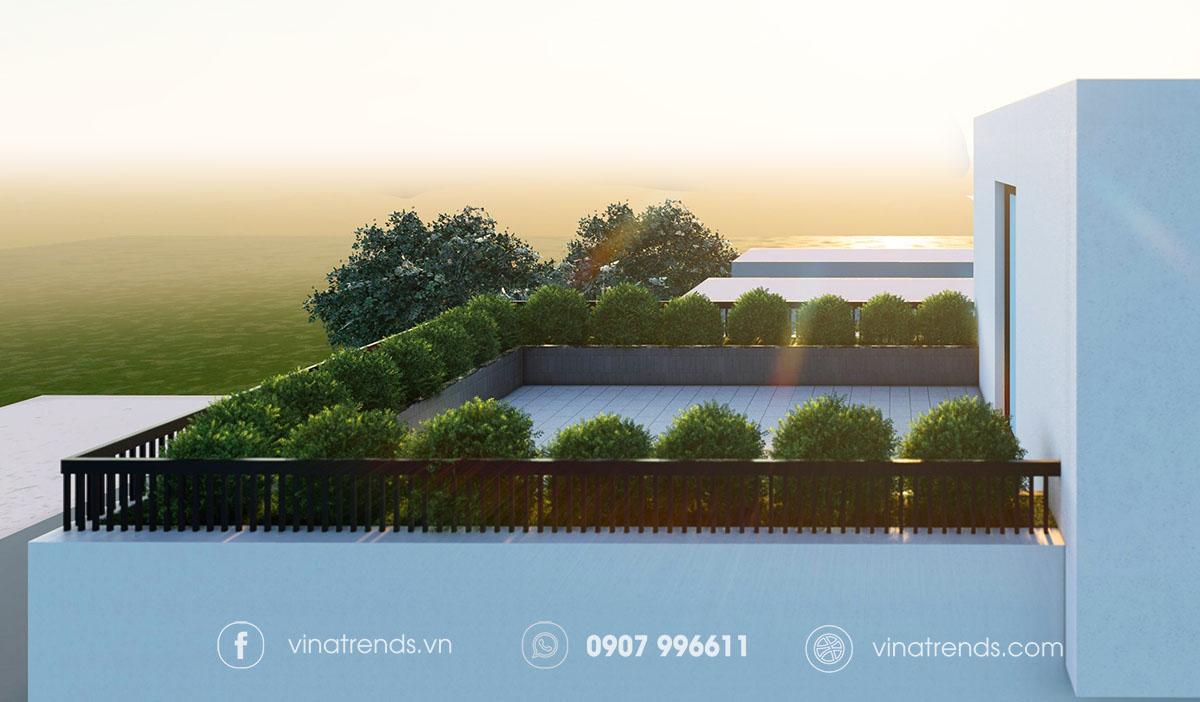mau nha biet thu co san truoc dep 4 Làm sao mẫu biệt thự hiện đại 3 tầng đẹp nhất KDC này nha em | 126m2, Nghệ An