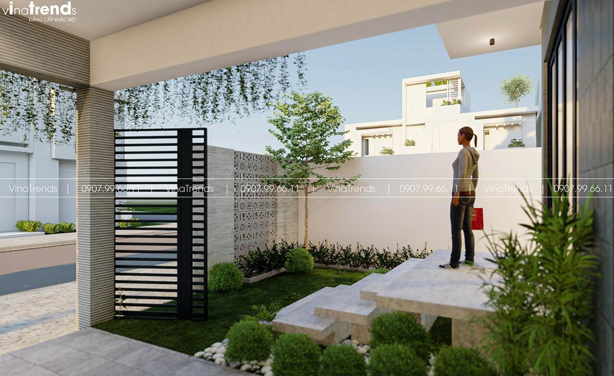 gara xe nha pho dep Làm sao mẫu biệt thự hiện đại 3 tầng đẹp nhất KDC này nha em | 126m2, Nghệ An