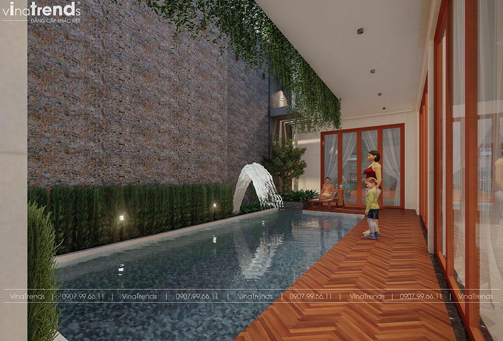 ho boi gia dinh trong nha Khát Khao Mẫu Biệt Thự Đẹp 2 Tầng 2 Mặt Tiền Rộng 500m2 phủ cây Xanh tuyệt đối ở Biên Hoà