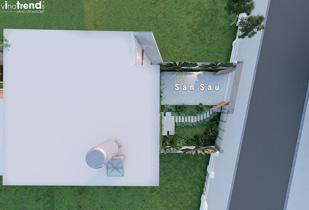 mau nha 2 tang co san vuon nho nho dep Khát Khao Mẫu Biệt Thự Đẹp 2 Tầng 2 Mặt Tiền Rộng 500m2 phủ cây Xanh tuyệt đối ở Biên Hoà