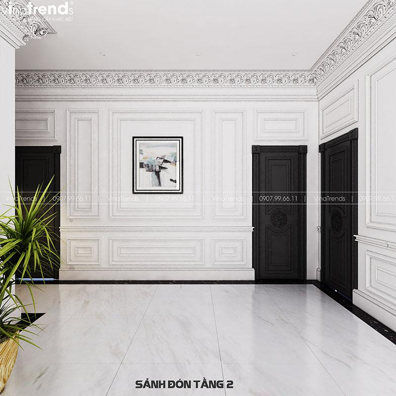 mau nha sanh thong tang dep Mẫu biệt thự 2 tầng nhà vườn rộng 750m2 kiểu nông thôn Pháp đẹp từ cổng đến sau nhà ở Đồng Nai