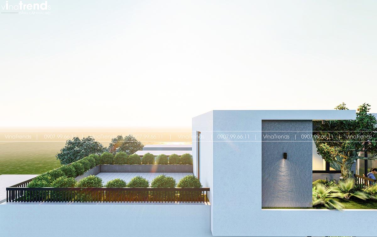 san thuong biet thu pho dep Làm sao mẫu biệt thự hiện đại 3 tầng đẹp nhất KDC này nha em | 126m2, Nghệ An