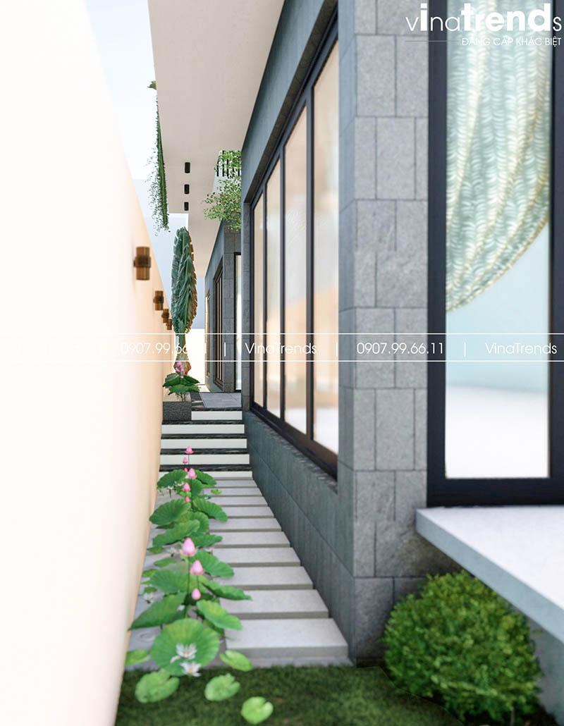 tieu canh san vuon nha pho dep Làm sao mẫu biệt thự hiện đại 3 tầng đẹp nhất KDC này nha em | 126m2, Nghệ An