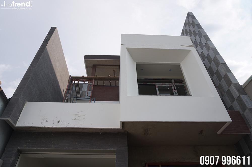 cong ty xay dung dong nai vinatrends xay nha thuc te Bản vẽ biệt thự 3 tầng hiện đại 8x16,6m chinh phục mỹ mãn cặp vợ chồng đời đầu 8X ở Biên Hòa