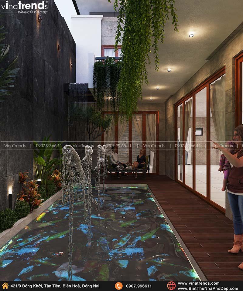 ho boi mini trong nha dep mat Khát Khao Mẫu Biệt Thự Đẹp 2 Tầng 2 Mặt Tiền Rộng 500m2 phủ cây Xanh tuyệt đối ở Biên Hoà