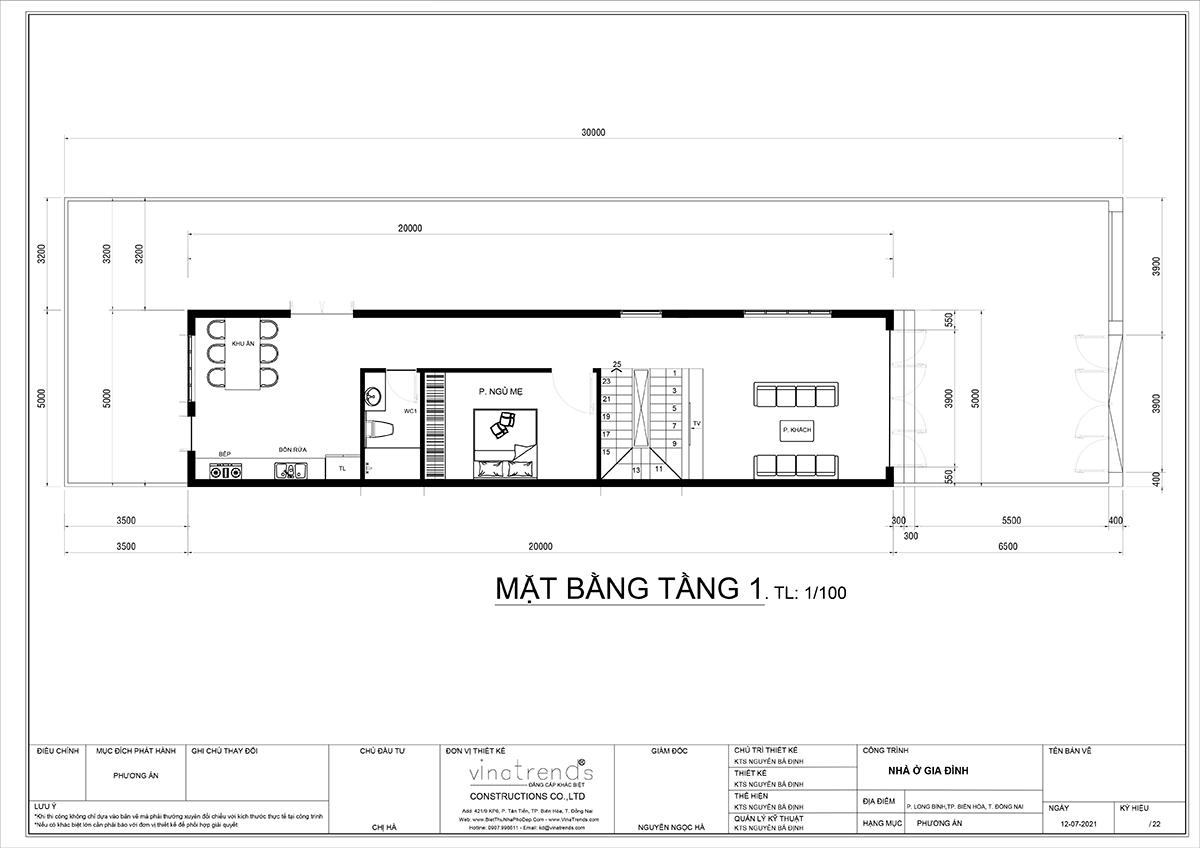 mat bang tang 1 nha 3 tang tan co dien dep mat tien 5m dai 14m Ái nữ tặng mẹ mẫu nhà biệt thự 3 tầng mái thái tân cổ điển 5m x 13,5m phòng nào cũng mát lạnh ở Biên Hoà