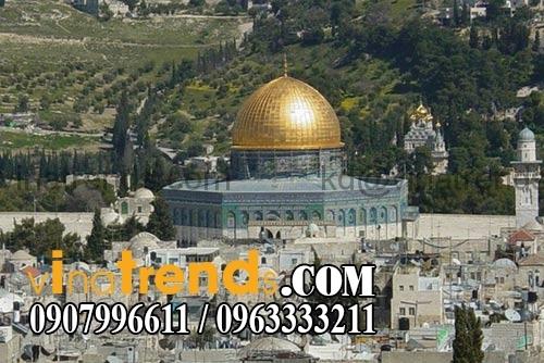 Dome of the Rock Jerusalem 14 kiến trúc thiết kế biệt thự nhà vòm độc đáo nhất hành tinh   BST020915C