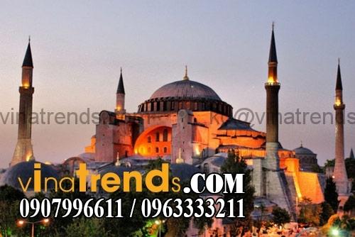 Hagia Sophia Istanbul Tho nhi ky 14 kiến trúc thiết kế biệt thự nhà vòm độc đáo nhất hành tinh   BST020915C