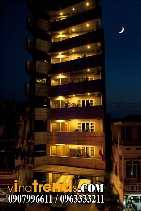 khach san dep ngoc huong  Mẫu thiết kế nội thất khách sạn 3 sao đẹp Ngọc Hương Huế   KS080814A