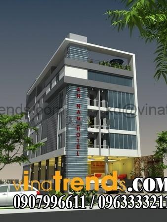 khach san dep1243 Tư vấn thiết kế khách sạn đẹp sang trọng nhất   KS240714A